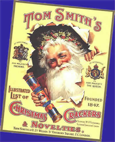 Christmas Crackers History-Origins-Invention, read about Tom Smith ...